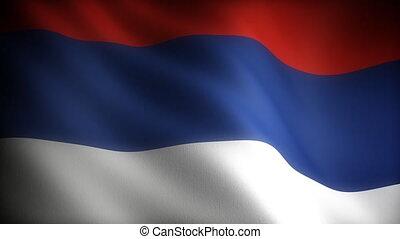 Flag of Serbia (seamless)