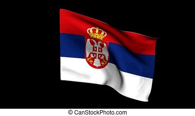 Flag of serbia - The series includes all the flags of...