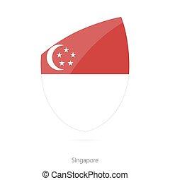 Flag of Singapore.
