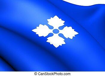 Flag of Skjak, Norway.