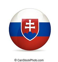 Flag of Slovakia. Vector illustration.