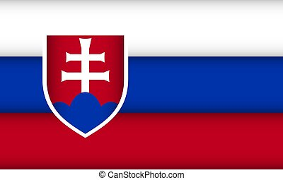Flag of Slovakia.