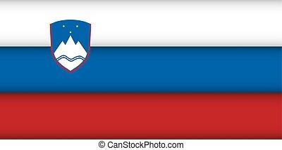 Flag of Slovenia.
