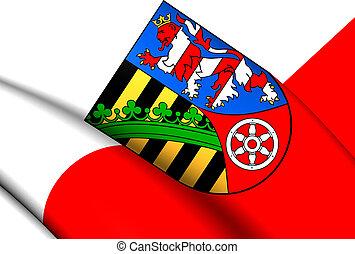 Flag of Sommerda, Germany.