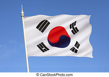 Flag of South Korea - The flag of South Korea, or Taegeukgi...