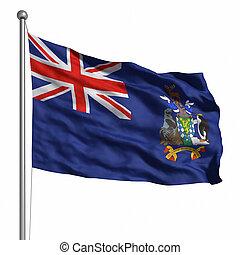 Flag of South Sandwich Islands