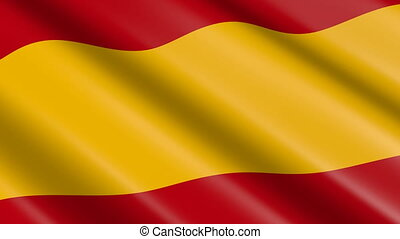 Flag of Spain (seamless loop) - great for topics like...