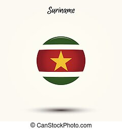 Flag of Suriname icon