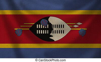 Flag of Swaziland.