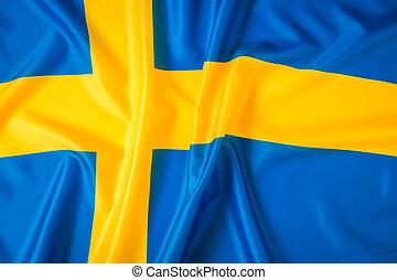 Flag of Sweden . - Flag of Sweden