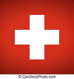 Flag of Swiss.