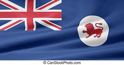 Flag of Tasmania - Australia - Large flag of Tasmania -...