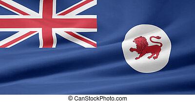 Flag of Tasmania - Australia - Large flag of Tasmania -...