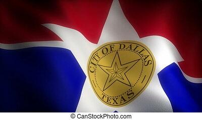 Flag of Texas Dallas
