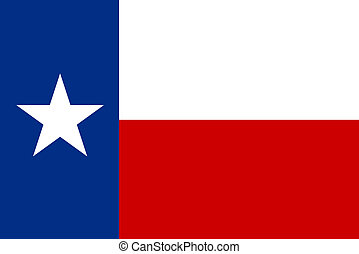 Flag of Texas - Flag of the State of Texas