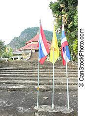 Flag of Thailand.