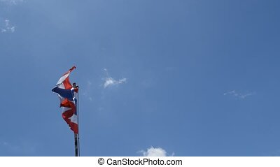 Flag of Thailand (Siam) - Flag of Kingdom of Thailand (Siam)...