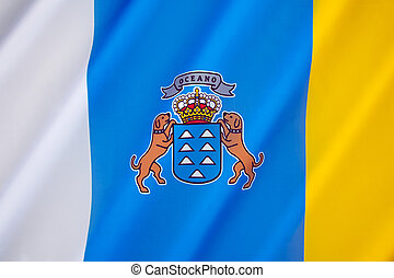 Flag of the Canary Islands