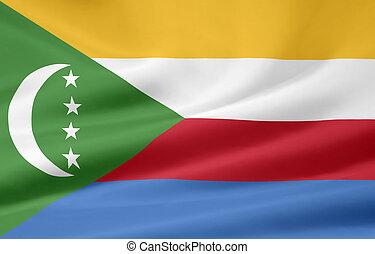 Flag of the Comores