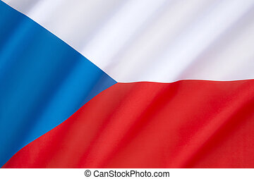 Flag of the Czech Republic - The national flag of the Czech ...