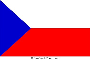 Flag of the Czech Republic.
