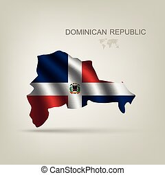 Flag of the Dominican Republic as a country