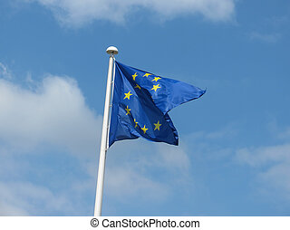 flag of the European Union (EU)