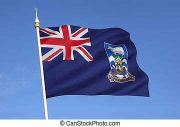 The current flag of the Falkland Islands was adopted on 25 January 1999 and consists of the Union Flag and the Falkland Islands coat-of-arms.