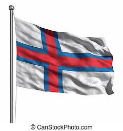7647c98e012 Flag of the Faroe Islands. Flag of the Faroe Islands. Rendered with fabric  texture (visible at 100%).