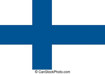 Flag of the Finland