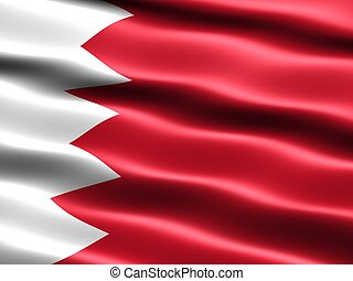 Flag of the Kingdom of Bahrain