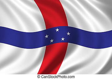Flag of The Netherlands Antilles