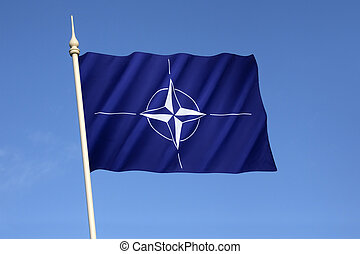 Flag of the North Atlantic Treaty Organization - NATO - Flag...