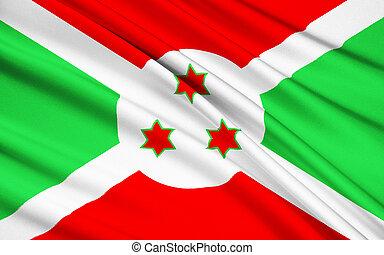 Flag of the Republic of Burundi