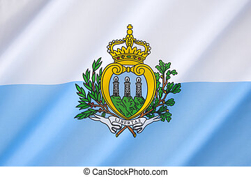 Flag of the Republic of San Marino
