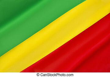 Flag of the Republic of the Congo - Adopted in 1959 until...