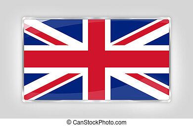 flag of the United Kingdom creative elements design