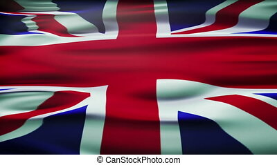 Flag of the United Kingdom Of Great Britain and Northern...