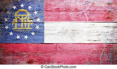 Flag of the U.S. state of Georgia