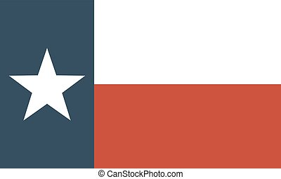 flag of the US state of Texas