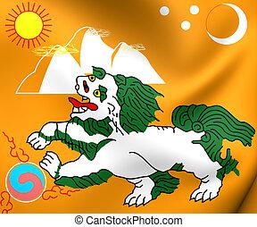 Flag of Tibet (1920-1925) - 3D Flag of Tibet (1920-1925)....