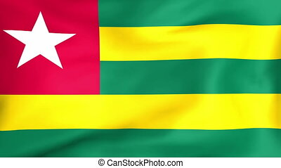 Developing the flag of Togo