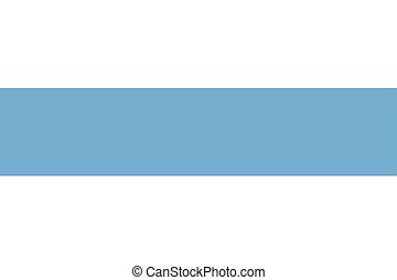 Flag of Tucuman Province, Argentina. Vector Format