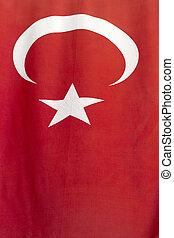 Flag of Turkey Background