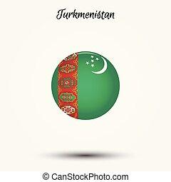 Flag of Turkmenistan icon