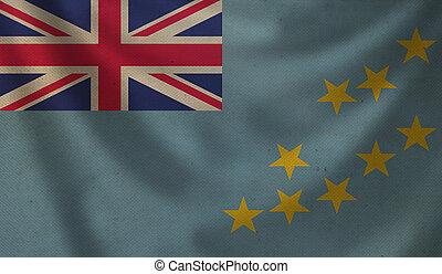 Flag of Tuvalu.