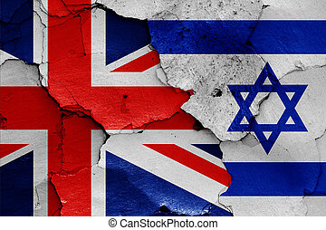 flag of UK and Israel
