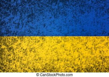 Flag of Ukraine.
