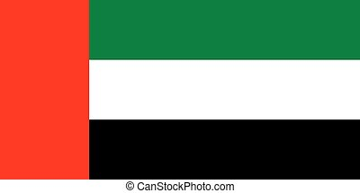 Flag of United Arab Emirates - Flag of United Arab Emirate,