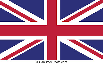 Flag of United Kingdom - United Kingdom flag vector...